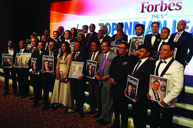 Finance House General Manager among the Top Indian Leaders in the Arab World