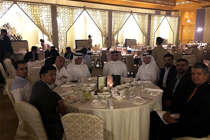 Finance House Sponsors Ramadan tent at the Ritz Carlton- DIFC