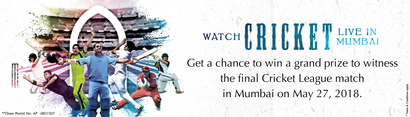 Win to witness the Cricket Finals